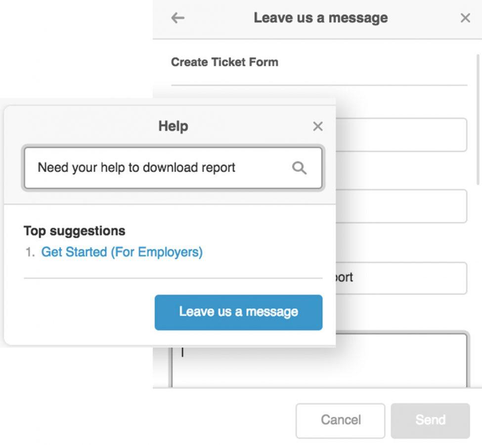 Uzio's Online Helpdesk